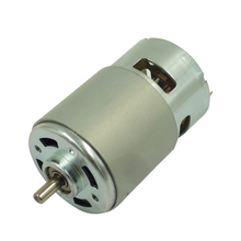 RS-755 Micro Magnet DC Motor, 6V-48V, 10w-200w output, for car and electric bicycle with CE&ROHS available