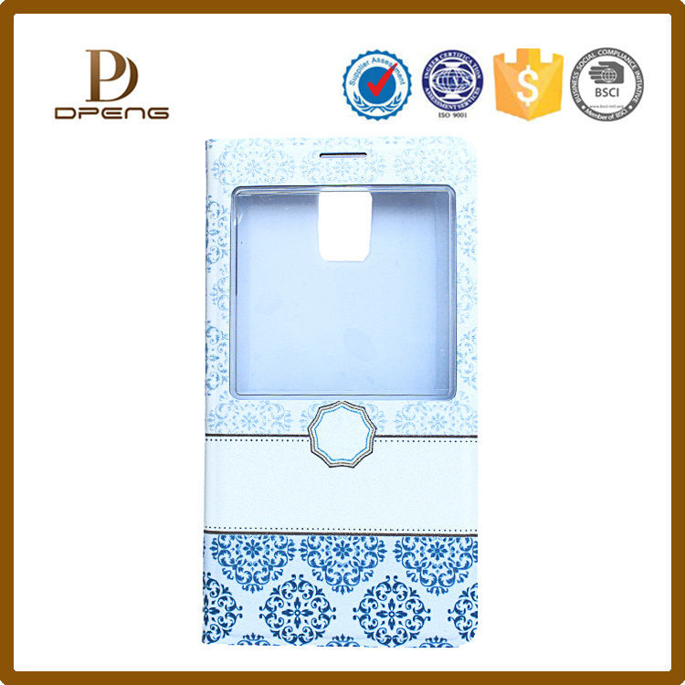 Wholesale 2015 shenzhen custom oem fashion genuine leather case flip leather case for lenovo a3000