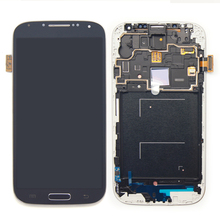 mobile phone spare parts for samsung galaxy s4 lcd screen i9500 i9505 i337 combo lcd display touch screen digitizer assembly rep