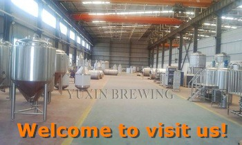 Brewing Beer production plant