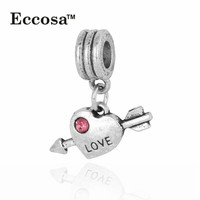 Import China Products Wholsale Cheap Alloy Heart Shaped Floating Hanging Charms Pendant For Lover beads for jewelry making