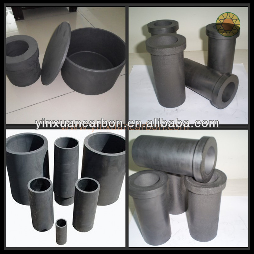 high temperature graphite crucibles