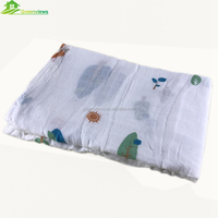 "Hot Sales Baby 100% Cotton softtextile muslin swaddle blanket 47x47"" After Washed cotton muslin blanket baby muslin"