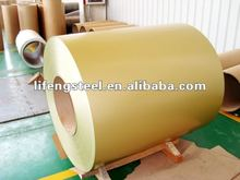 supply hot dipped zinc coating color coated steel coil