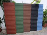 kerala stone coated metal roof tile