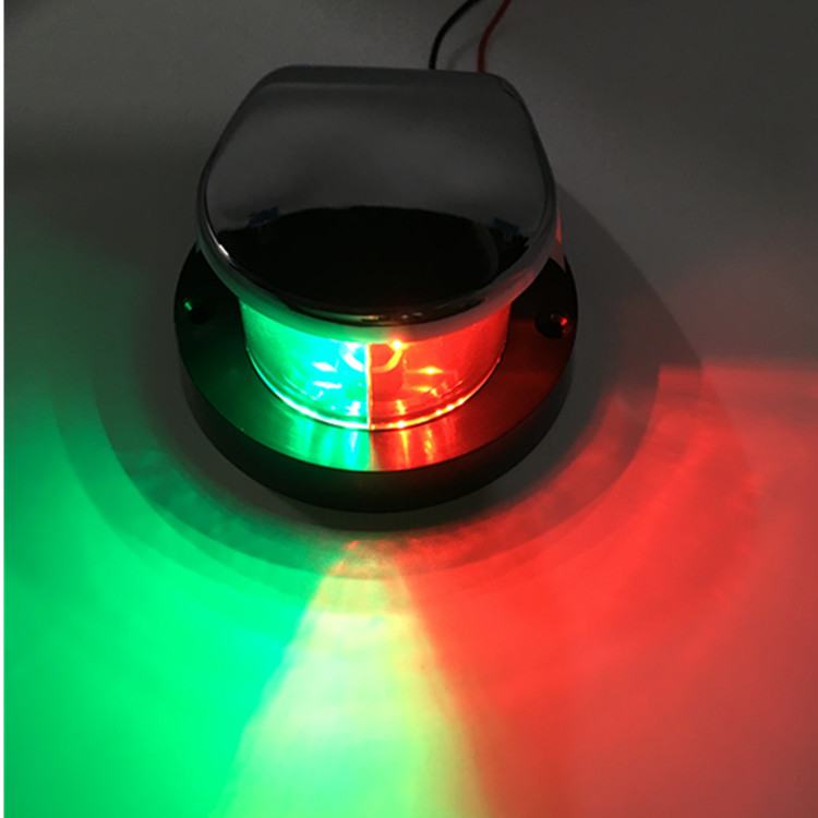 LED Marine/Navigation Bow Lights 12v, red+green