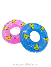 Hot summer plastic mini swim ring water play baby bath toy