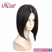 XBL New Arrival Top Premium Brazilian Hair Middle Part Straight Bob Hair Wig