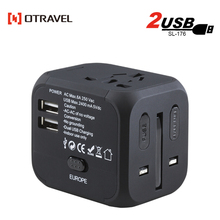 2018 custom electrical outlets luggage accessories smart world travel adapter,cube universal travel adapter for travelling