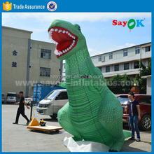 Hot selling advertising inflatable sea dragon animal inflatable giant dinosaur halloween for manufacture