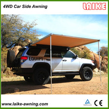 wholesale waterproof canvas cotton foxwing car side awning