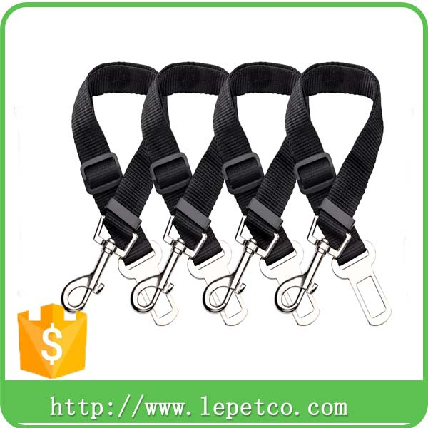 wholesale low price durable alunimium alloy buckle car auto vehicle dog safety car belt