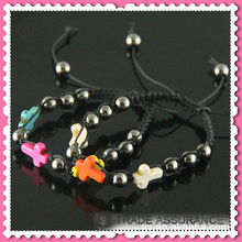 Low price crosses for to make bracelets, custom bead wwjd bracelets