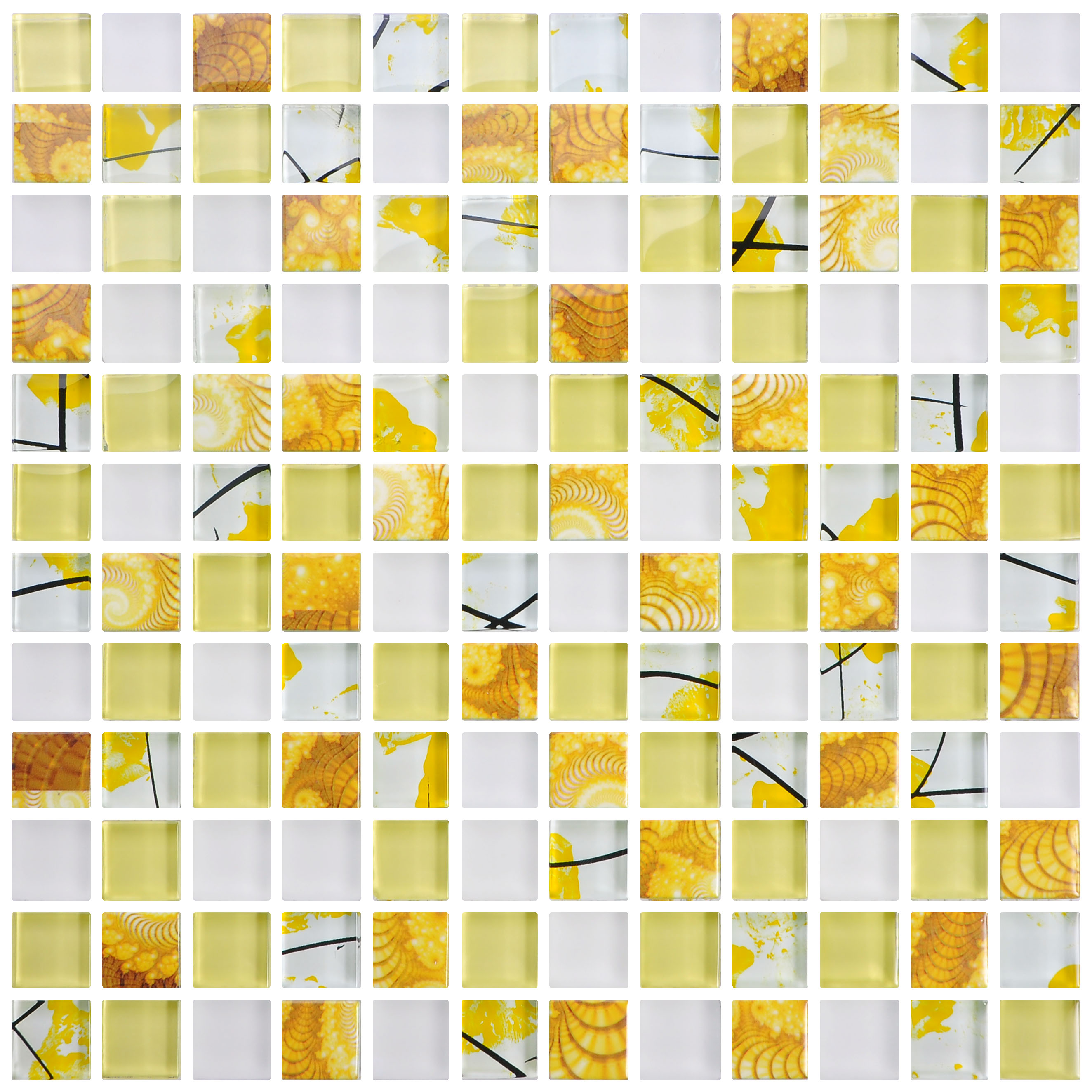 New Products Pool Mosaic Gold Color Glass Mosaic Tile