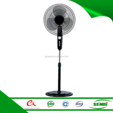 18 inch modern big electric stand fan motor rpm with 60 minutes timer