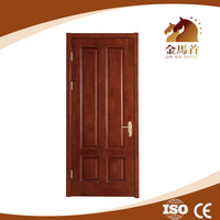 hotel natural veneer wood composite room door