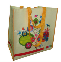 OEM manufacturer Pp woven shopping beach bag