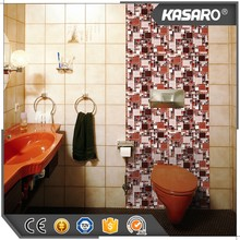 Multi Sizes Of Maroon Glass Mosaic Bathroom Wall Mosaic Tile