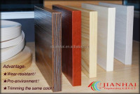 Pvc edge banding mdf for furniture