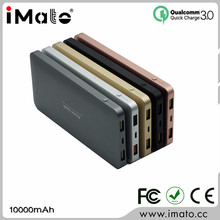 Wholesale Cheap Price External Battery Fast Charging dual usb Portable Power Bank 10000mah