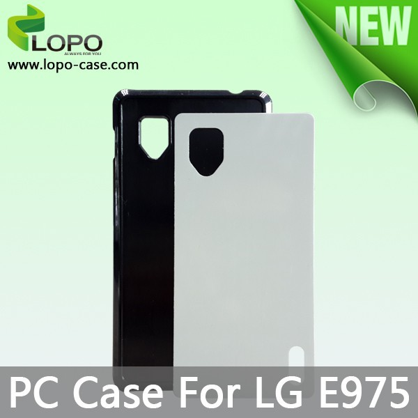 android phone blank sublimation case for LG E715 with Aluminum insert