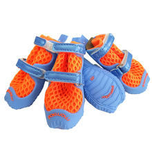Outdoor Mesh Material Breathable Leisure Dog Boots