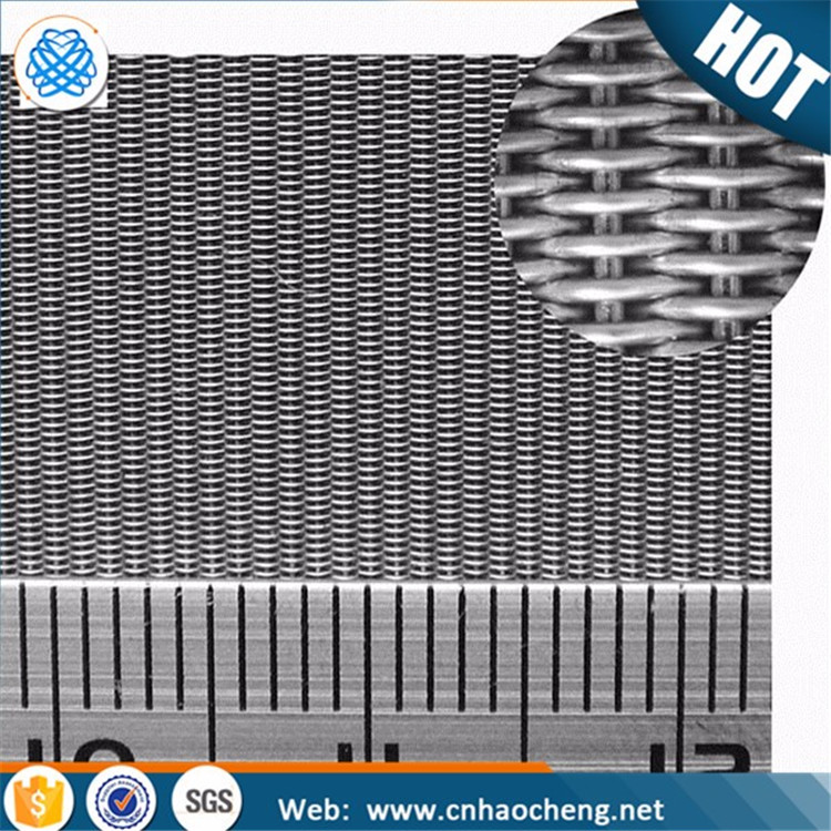 132x17mesh AISI304 stainless steel reverse dutch weave wire mesh