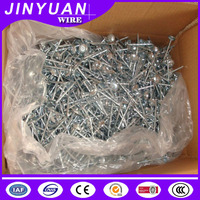 High quality with low factory price galvanized roofing nails made in China