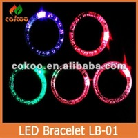 Led flashing bracelet, promotion gifts LED bracelet for party