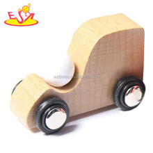 wholesale funny play for Kids small wooden toy cars for promoting High quality wooden small toy car for children W04A176