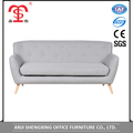 Cheap furniture living room gray sectional sofa with modern design