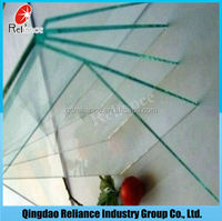 1.5-3.7mm clear sheet glass/building window non-glare picture frame sheet glass