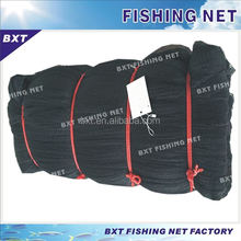 Polyester multifilament large fishing nets