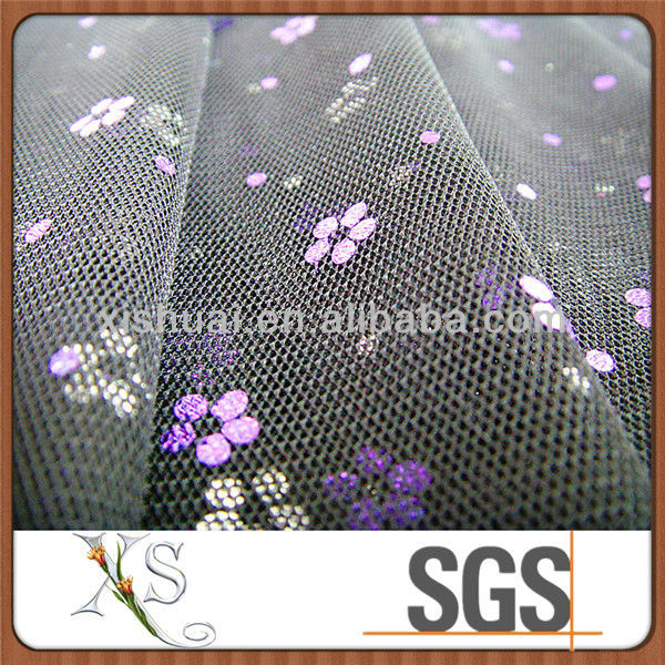 Bronzing Velvet Fabric Mesh Fabric For Decoration