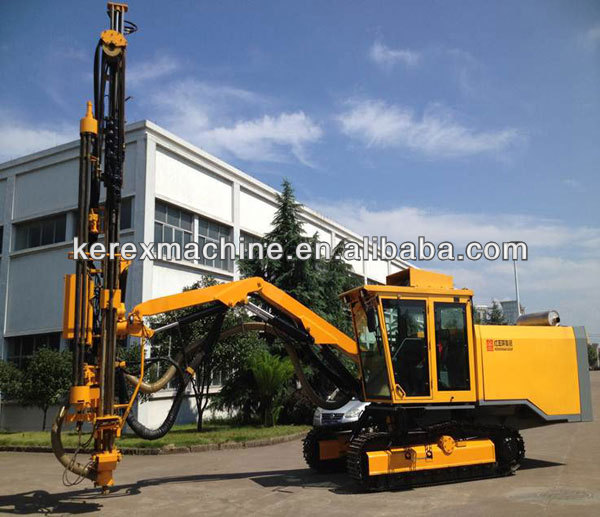 crawler Rotary down the hole hammer drill rig H7