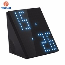 2000mAH Black Diy Wireless LED Bluetooth Speaker For Mobile Phone
