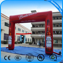 Guangqian Fashion cheap inflatable colorful arch for outdoor advertising