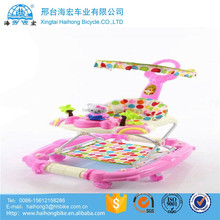 2017new sample baby walker for sit-to- stand,multi functions baby carriage, multi colors baby walkers for choose