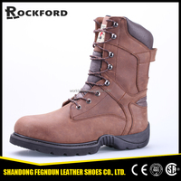 Warehouse shoes casting area crazy horse leather safety boots FD8310
