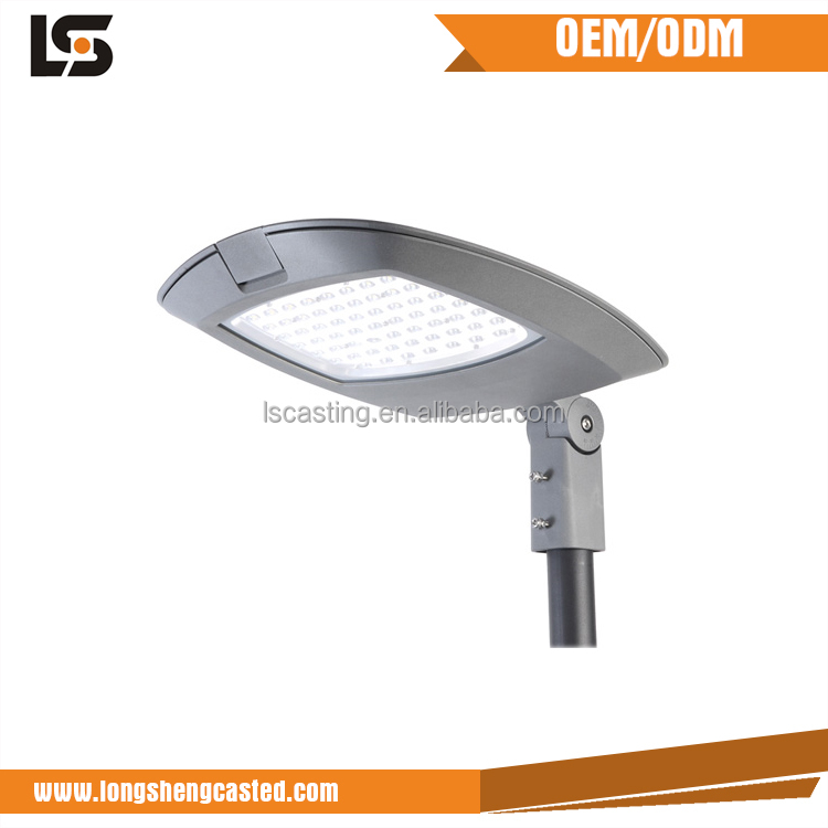 Building materials street light aluminium housing die cast parts led road lamp shell