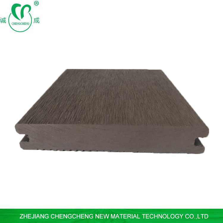 wood plastic composite board waterproof composite decking solid for outdoor