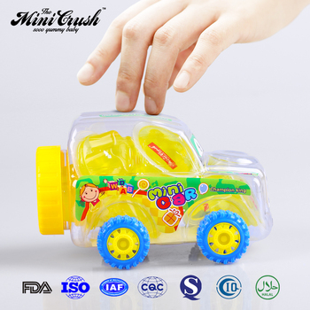 20pcs Mini Army Car jelly candy drink