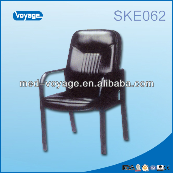 SKE062, Wood Doctor Chair, solid wood armrest office chair