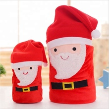Wholesale Personalized Coral Fleece Toy Design Christmas Kids Blanket