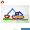 JS2710451 Art crafts play set Diy preschool game toy with 350 pieces beans