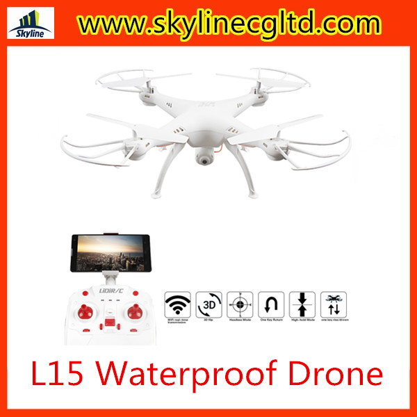 LiDi RC L15 Wifi Smart Real-time Transmission Waterproof Drone with 720P Camera