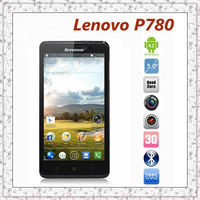 5.0inch Lenovo P780 Mobile Phone MTK6589 quad core 1.2GHz android 3G smart phone 1GB RAM 4GB ROM camera 8MP bluetooth GPS