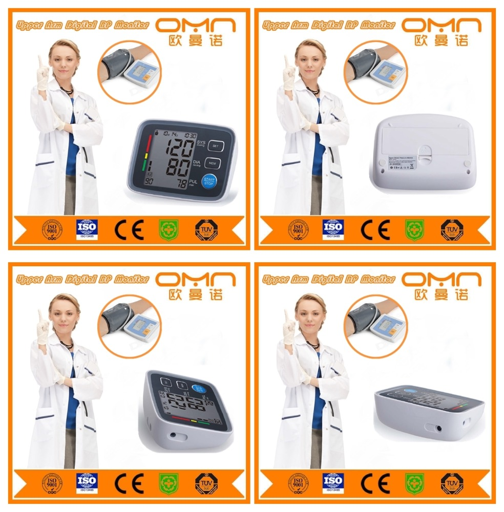 Home use Electronic Medical Monitor blood pressure measurement device with cuff