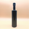 screw sealing painting black vodka glass bottles China supplier