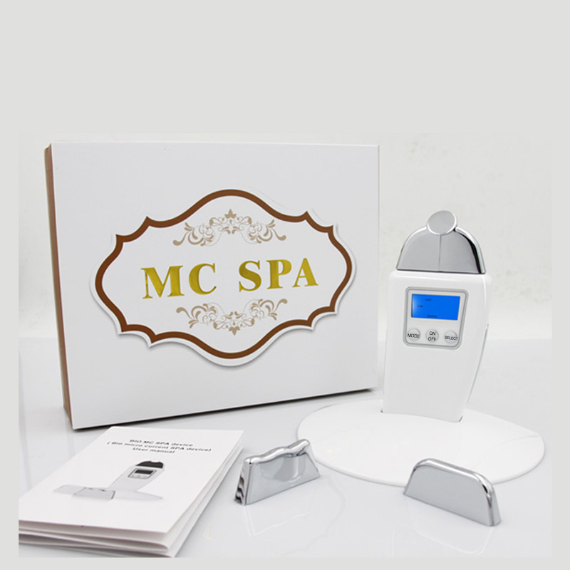 home use microcurrent galvanic spa nu skin face machine for skin tightening lift